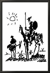 Sale-Abstract-oil-painting-oil-on-canvas-font-b-Don-b-font-font-b-Quixote-b